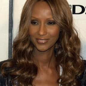 Iman is listed (or ranked) 2 on the list The Greatest Black Female Models
