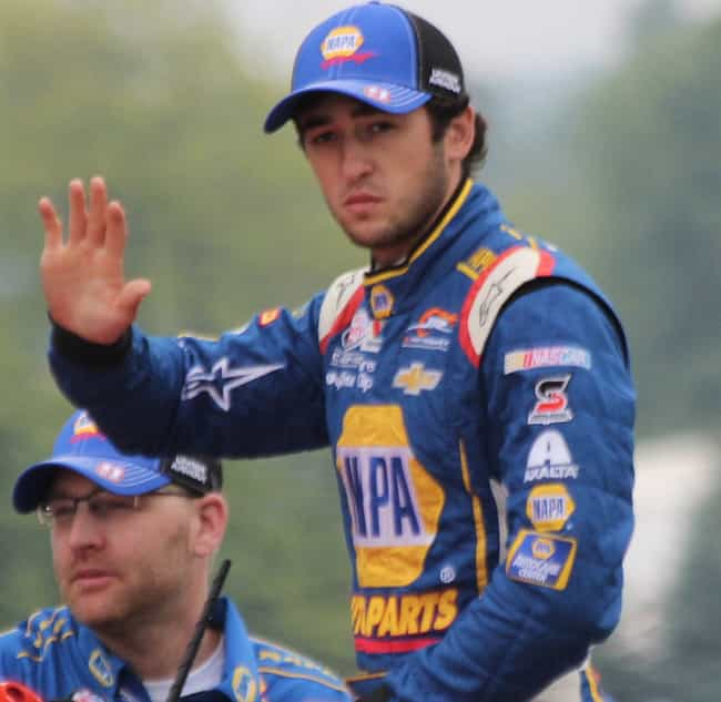 Chase Elliott is listed (or ranked) 3 on the list NASCAR Drivers Who Are Single