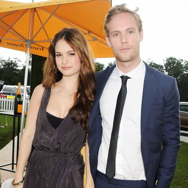 Jack Fox is listed (or ranked) 3 on the list Lily James Loves and Hookups
