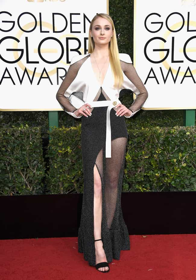Sophie Turner is listed (or ranked) 3 on the list The Worst Fashion at the 2017 Golden Globes