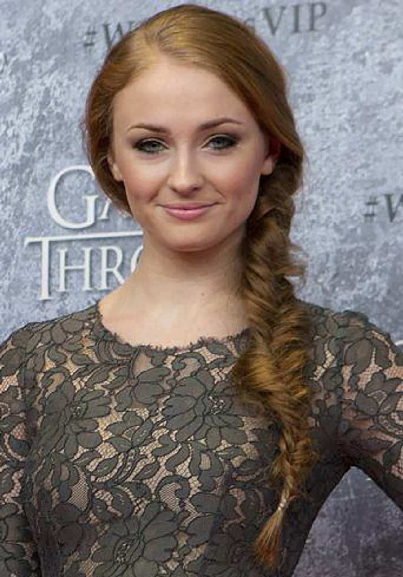 Sophie Turner is listed (or ranked) 2 on the list Famous People Describe What It's Like Living With Depression