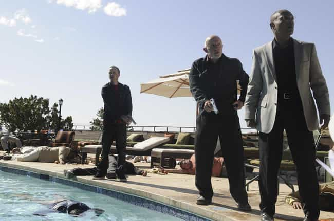 Salud is listed (or ranked) 3 on the list The Best Mike Episodes of 'Breaking Bad' & 'Better Call Saul'
