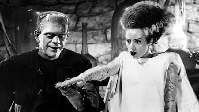 The Bride of Frankenstein is listed (or ranked) 4 on the list What Your Favorite Horror Couple Says About Your Relationships