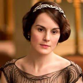 Lady Mary Crawley is listed (or ranked) 10 on the list The Best Dressed Female TV Characters