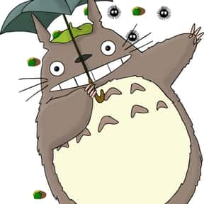 Totoro is listed (or ranked) 3 on the list The Greatest Fat Anime Characters of All Time