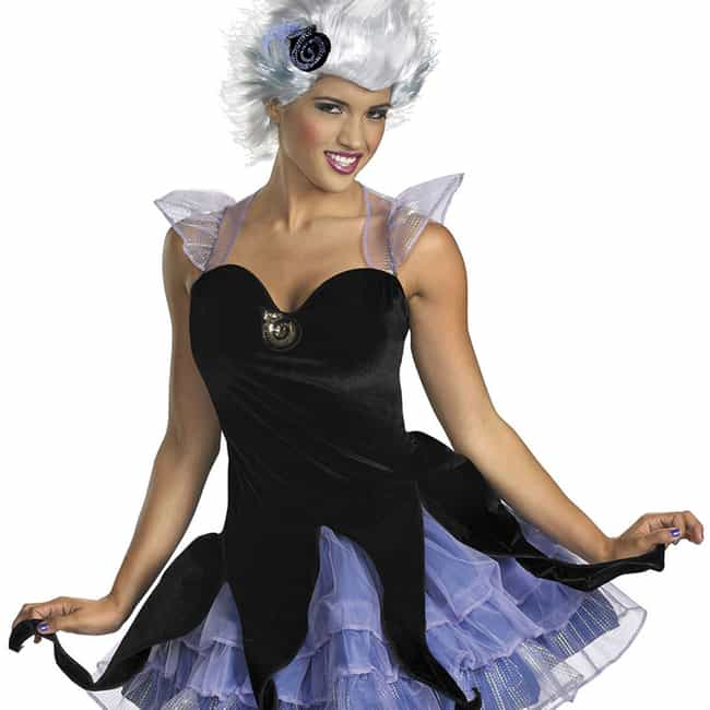Ursula is listed (or ranked) 2 on the list Disney Villain Halloween Costumes