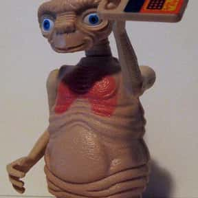 E.T is listed (or ranked) 25 on the list The Best Movie Characters Of All Time