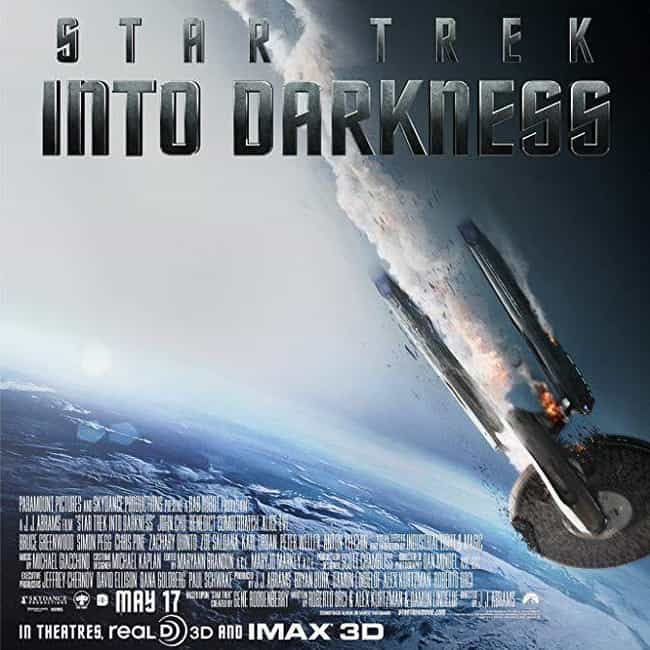Star Trek Into Darkness is listed (or ranked) 2 on the list The Best Zachary Quinto Movies
