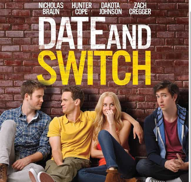 Date and Switch is listed (or ranked) 2 on the list What to Watch If You Love 'Love, Simon'