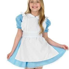 Alice at 12 yrs. is listed (or ranked) 1 on the list Fictional Characters Named Alice