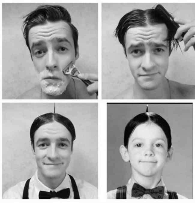 Alfalfa is listed (or ranked) 1 on the list 60+ Unbelievable #MakeupTransformations