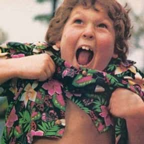 Chunk is listed (or ranked) 18 on the list The All-Time Best Tween Movie Characters