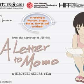 A Letter to Momo is listed (or ranked) 15 on the list The Best Anime Like Wolf Children