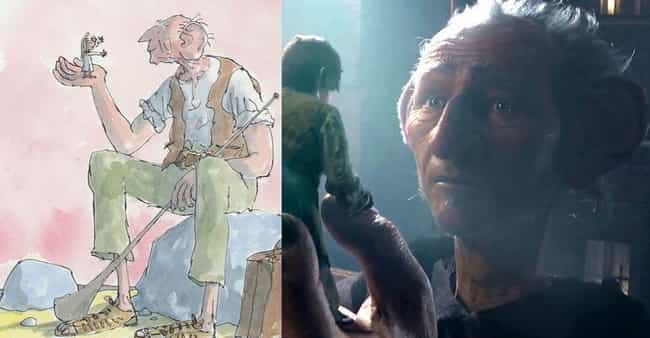The BFG is listed (or ranked) 1 on the list Roald Dahl Movie Characters Who Look Like You Want Them To