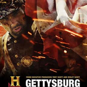 Gettysburg is listed (or ranked) 19 on the list The Best Military Movies Ever Made