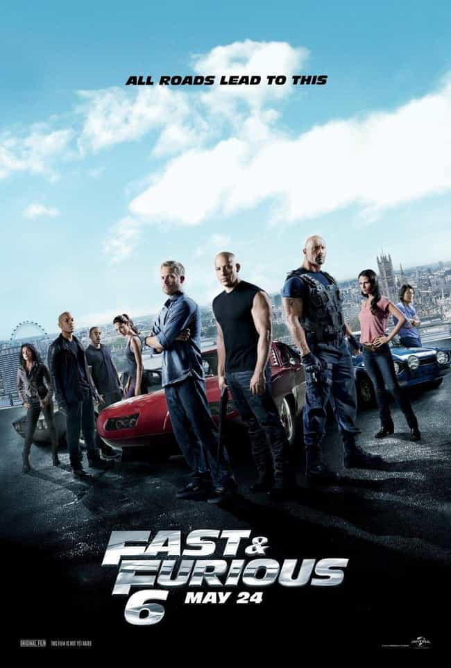 Fast & Furious 6 is listed (or ranked) 3 on the list All 9 'Fast and Furious' Movies, Ranked Best to Worst