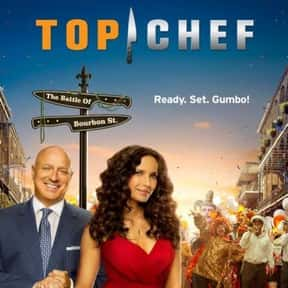 Top Chef is listed (or ranked) 4 on the list The Most Watchable Cooking Competition Shows
