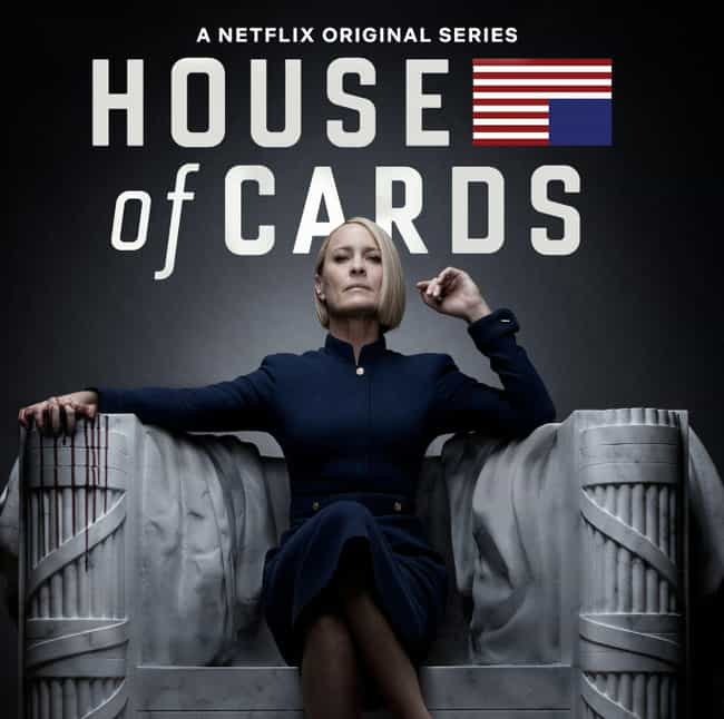House of Cards is listed (or ranked) 3 on the list What to Watch If You Love 'Homeland'