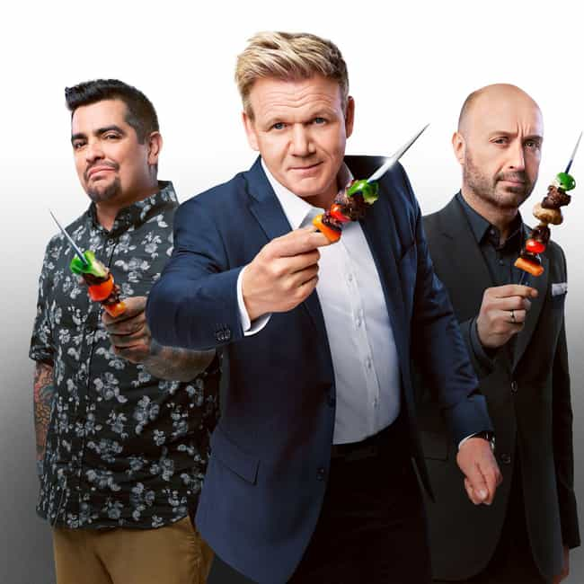 MasterChef is listed (or ranked) 4 on the list What to Watch If You Love 'Chopped'