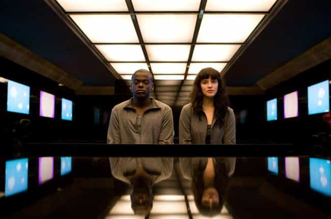 Black Mirror is listed (or ranked) 1 on the list 5 Pretty Good Sci-Fi Shows On Netflix Right Now