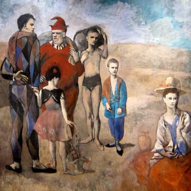 Family of Saltimbanques ... is listed (or ranked) 4 on the list Famous Rose Period Artwork