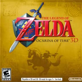 The Legend of Zelda: Ocarina o is listed (or ranked) 2 on the list The Best Nintendo 3DS Games of All Time, Ranked by Fans