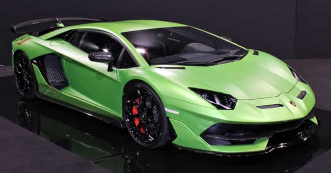 Lamborghini Aventador is listed (or ranked) 4 on the list 20 Snazzy Cars Most Preferred by Celebrities