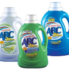 ABC is listed (or ranked) 13 on the list The Best Laundry Detergent Brands