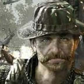 Captain Price is listed (or ranked) 22 on the list The Most Hardcore Video Game Heroes of All Time