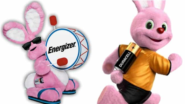 Energizer Bunny is listed (or ranked) 8 on the list Parodies That Are Way More Popular Than The Thing They're Parodying