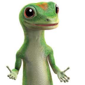 GEICO Gecko is listed (or ranked) 8 on the list The Most Memorable Advertising Mascots of All Time