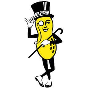 Mr. Peanut is listed (or ranked) 10 on the list The Most Memorable Advertising Mascots of All Time