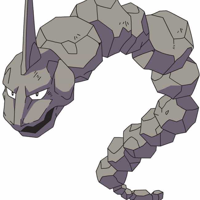 Onix is listed (or ranked) 1 on the list 15 Huge Characters Who Should Weigh A Lot More