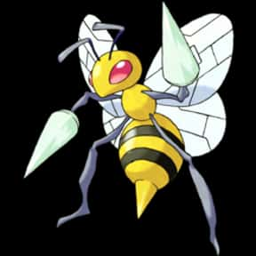 Beedrill is listed (or ranked) 4 on the list The Best Bug Pokemon of All Time
