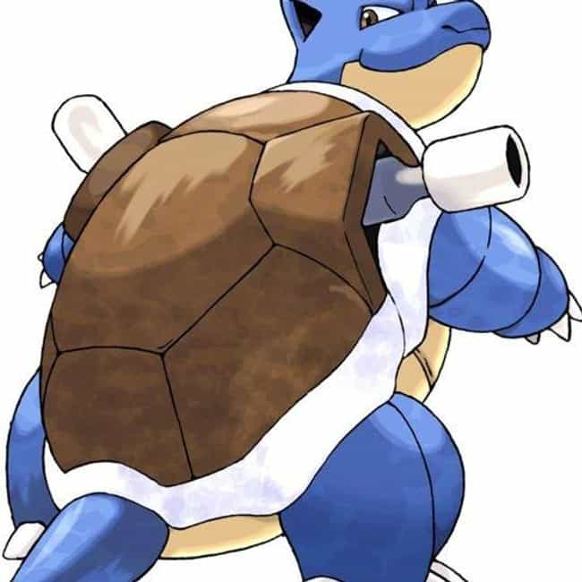 Blastoise is listed (or ranked) 4 on the list 15 Huge Characters Who Should Weigh A Lot More