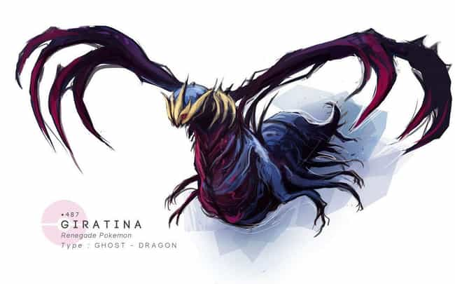 Giratina is listed (or ranked) 2 on the list This Artist Draws Pokémon In Grotesquely Realistic Style