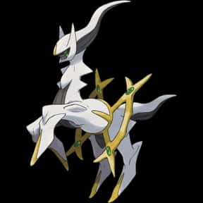 Arceus is listed (or ranked) 3 on the list The Best Normal Pokemon of All Time