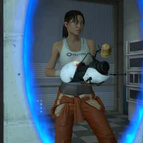 Chell is listed (or ranked) 20 on the list The Best Jumping Characters in Gaming History