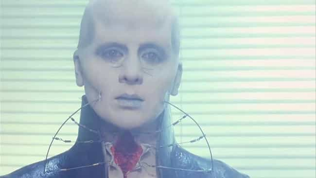 Female Cenobite is listed (or ranked) 3 on the list All The Cenobites From The 'Hellraiser' Films, Ranked By Nastiness