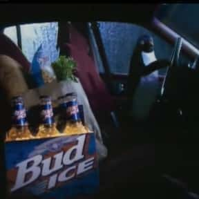 Bud Ice Penguin is listed (or ranked) 12 on the list The Greatest Animals in Commercials