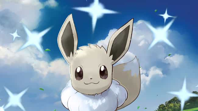 Eevee is listed (or ranked) 3 on the list The Best Legendary & Shiny Pokémon