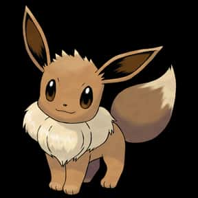 Eevee is listed (or ranked) 12 on the list The Best Dog Pokemon