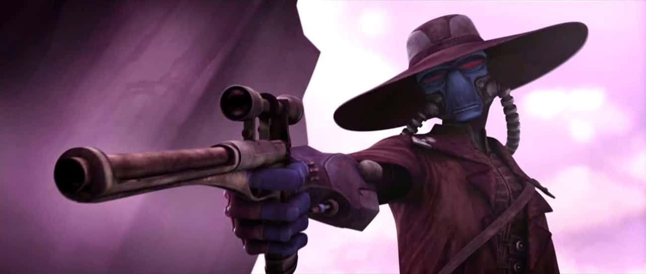 Cad Bane is listed (or ranked) 3 on the list Who's The Best Bounty Hunter In The Star Wars Galaxy?