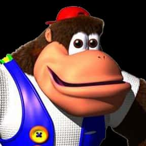 Chunky Kong is listed (or ranked) 16 on the list The Best Nintendo 64 Characters