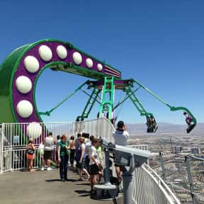 Insanity: The Ride is listed (or ranked) 2 on the list The Worst Amusement Park Rides To Get Stuck On