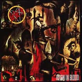 Raining Blood is listed (or ranked) 4 on the list The Best Metal Songs About Death