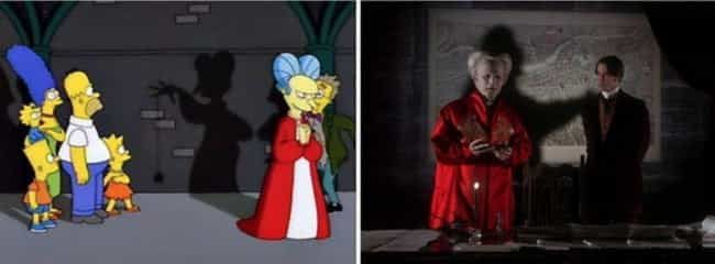Bram Stoker's Dracula is listed (or ranked) 3 on the list Horror Movie References In 'The Simpsons' 'Treehouse Of Horror' Specials