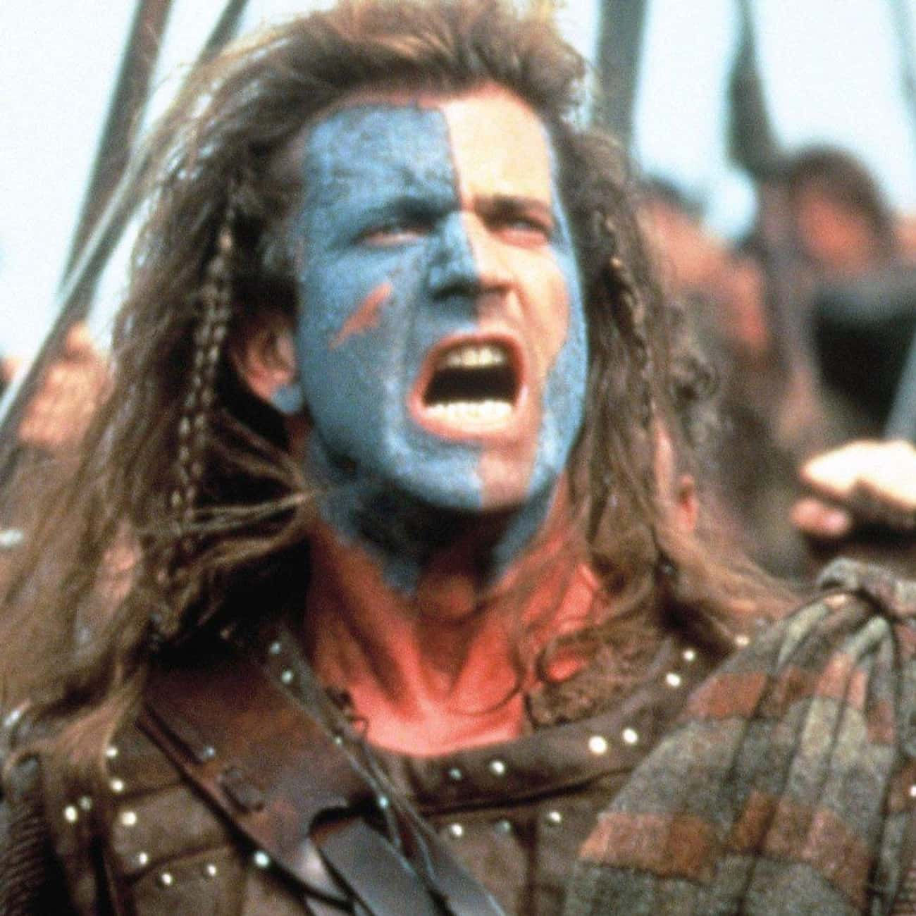 Braveheart is listed (or ranked) 4 on the list The '90s Movies That Stuck with You the Most