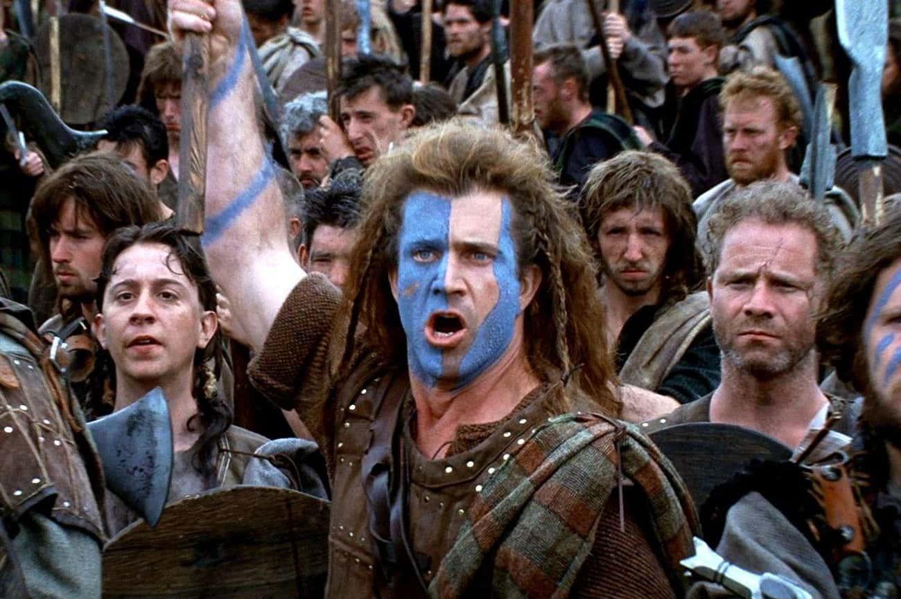 Braveheart: No Scottish Warrior Wore Blue Paint Or A Uniform