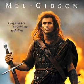 Braveheart is listed (or ranked) 13 on the list The Best Inspirational Movies